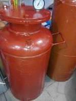 Автоклав красный мини (газ, болты)