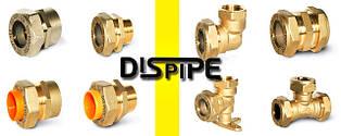 Фитинги для гофрированных труб DISPIPE и комплектующие