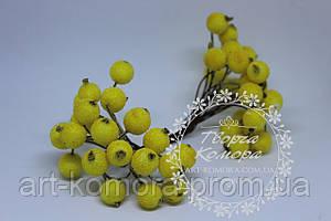 Калина в сахаре желтая. 40 ягод в наборе