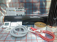 Теплый пол 1,8х3,5м Hi Heat (Ю.Корея) пленочный комплект (терморегулятор в подарок)