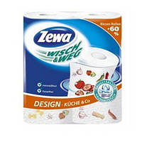 Полотенца бумажные Zewa wish & weg 2 шт 1 уп