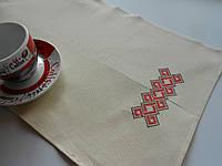 Льняные полотенца для сауны с вышивкой