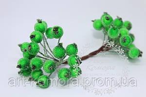 Калина в сахаре холодная зеленая. 40 ягод в наборе