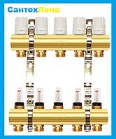 Коллектор для теплого пола и отопления APC 4 контура