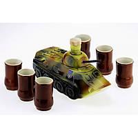 ККоньячный набор БТР (танк) 7 предметов