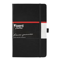 8201-01-А Книга записна Partner, 125*195, 96арк, кліт, чорн