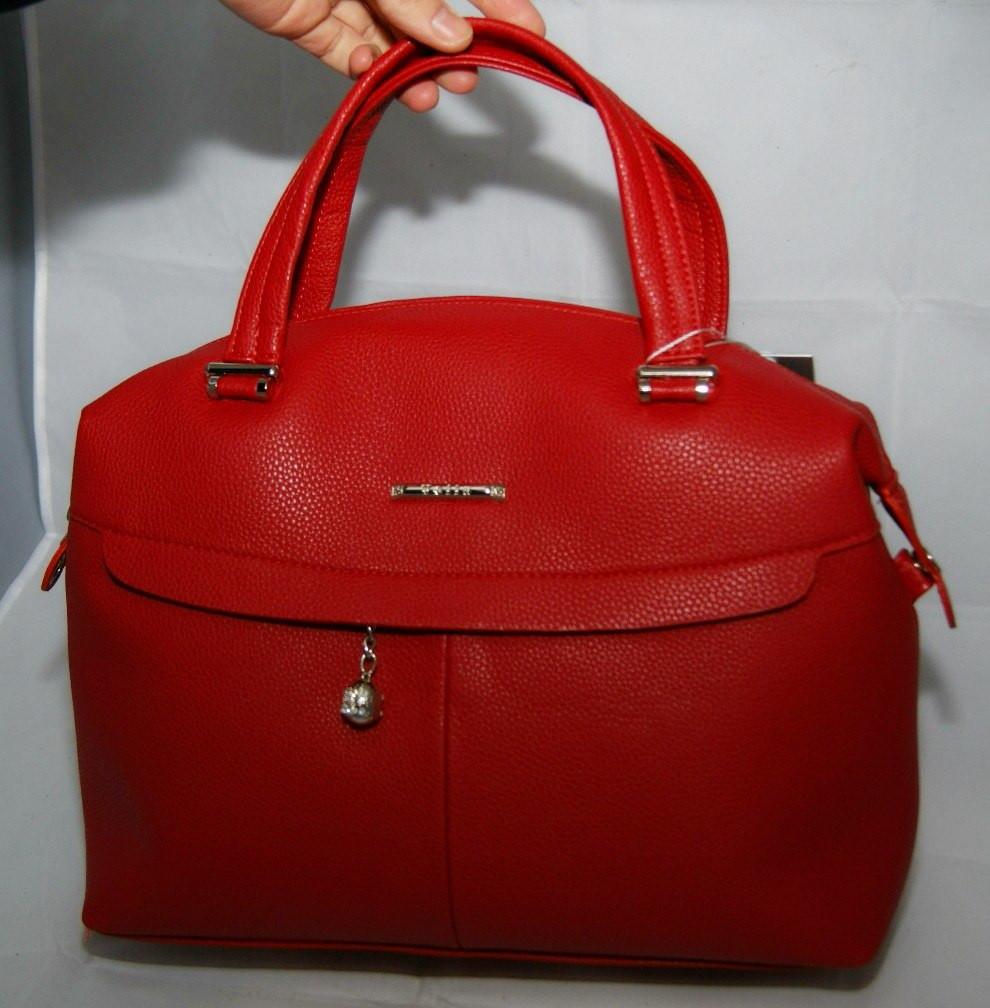 Красная женская стильная сумка Voila (Wallaby)