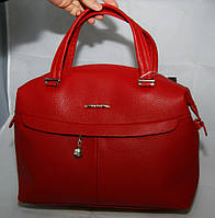 Красная женская стильная сумка Voila (Wallaby), фото 1