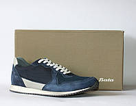 Мужские кроссовки Bata натуральная замша 42