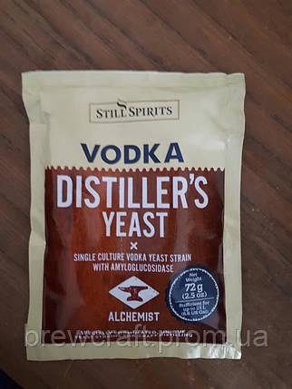 Дрожжи для зерновой браги Still Spirits Distiller's  Yeast Vodka With AG 72 грамма, фото 2