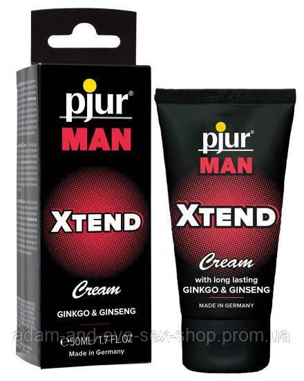 Крем для пениса массажный Pjur MAN Xtend Cream 50 ml стимулирующий
