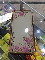 Чехол силикон Victoria Secret для iPhone 6 gold