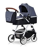 Детская универсальная коляска 2 в 1 Easy Go Optimo Denim