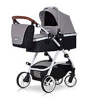 Детская универсальная коляска 2 в 1 Easy Go Optimo Grey Fox