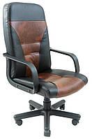 Кресло для персонала Сиеста пластик к/з Флай/Неаполь