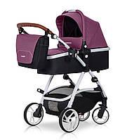 Детская универсальная коляска 2 в 1 Easy Go Optimo Purple