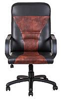 Кресло для персонала Сиеста пластик к/з Мадрас/Титан/Тиффани/Велюр