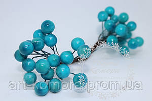 Калина глянцевая синяя. 20 ягод в наборе