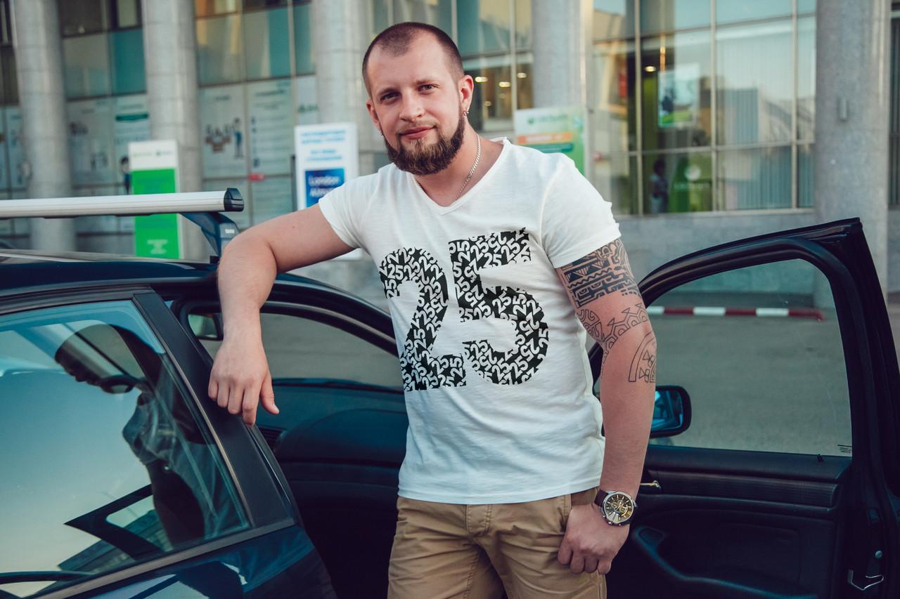 "Мужская футболка ""25"""