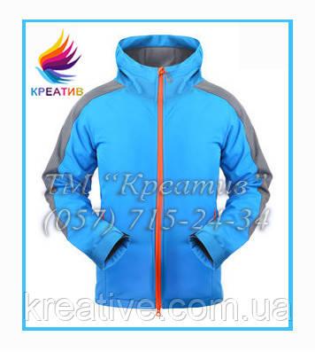 Ветровка, демисезонная куртка из флиса (под заказ от 50 шт.)