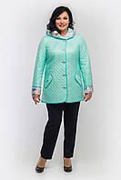 Куртка женская осенняя -П45 мята