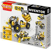Конструктор Строительная техника 12 в 1, серия Inventor, Engino