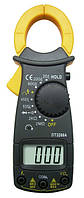 Мультиметр с клещами DT3266A, звуковая/световая индикация, ЖК-дисплей, память, поиск фазы, щупы 2+1