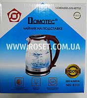 Электрический чайник - Domotec MS 8113 2200W (Красный)