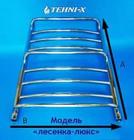 Водяной полотенцесушитель Tehni-x Люкс высота 80 см, межосевое расстояние 50