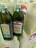 Monini olio extra vergine di oliva Delicato , масло оливковое