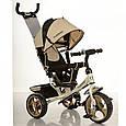 Трехколесный детский велосипед Turbo trike 3113-9 (колеса пена), фото 2