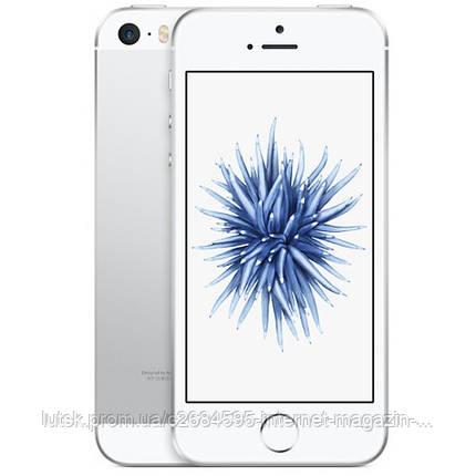 Apple iPhone SE 64GB (Silver), фото 2