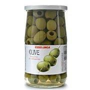 Оливки зелёные в рассоле без косточки Esselunga olive verdi denocciolate in salamoia vasetto 250