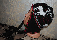 Класная шапка на флисе! сост +! зима
