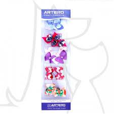 ARTERO бантики разноцветн на резинках, 10 шт.