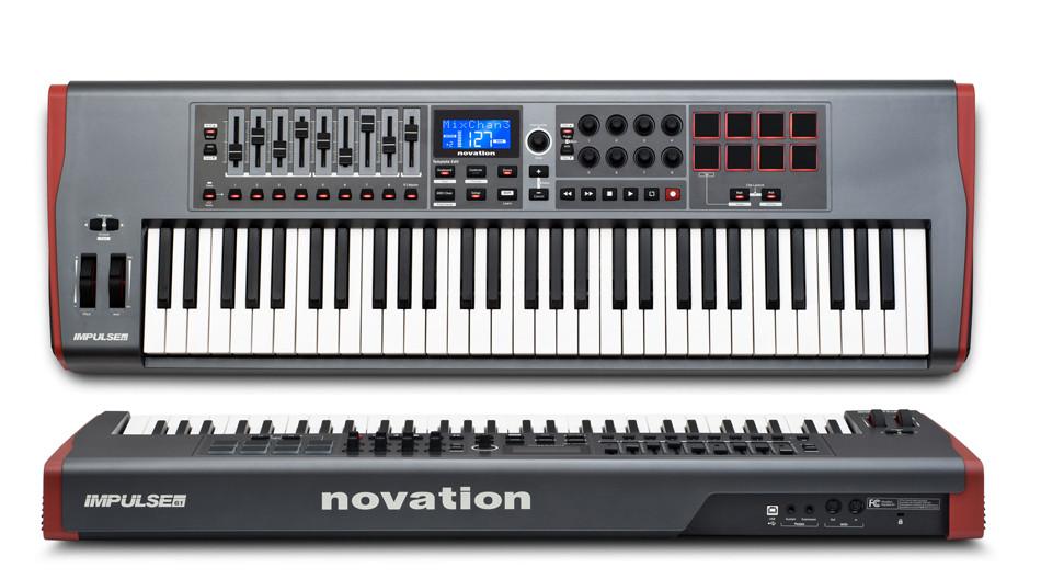 Миди-клавиатуры Novation Impulse 49