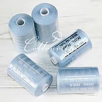 Нитки швейні 40s/2 міцні (1000Y) колір блакитний