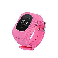 Smart Baby Watch Q50 Детские Часы Розовый