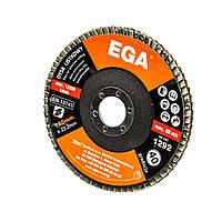 Диск пелюстковий 125 мм, зерн. 40  EGA