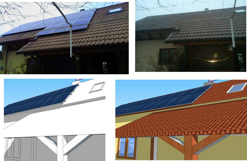 Сонячна електростанція 10 кВт*год с. Нижній Коропець 3