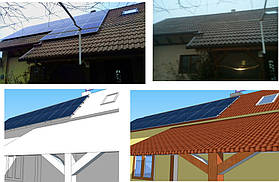 Сонячна електростанція 20 кВт*год с. Нижній Коропець 7