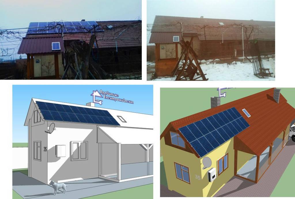 Сонячна електростанція 10 кВт*год с. Нижній Коропець 4