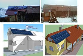 Сонячна електростанція 20 кВт*год с. Нижній Коропець 8