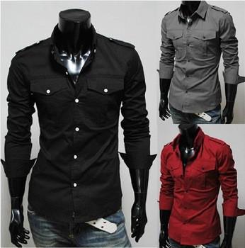 Мужская рубашка. Модель весна 2014
