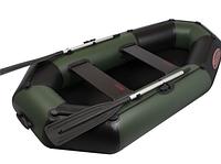 Двухместная гребная ПВХ лодка Вулкан V235 LS