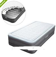 Надувная односпальная кровать встроенный электро насос INTEX 64482 ***