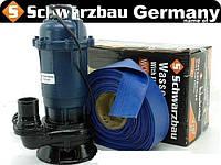 Насос wqd 214+ шланг 20 м для чистой и грязной воды. Польша