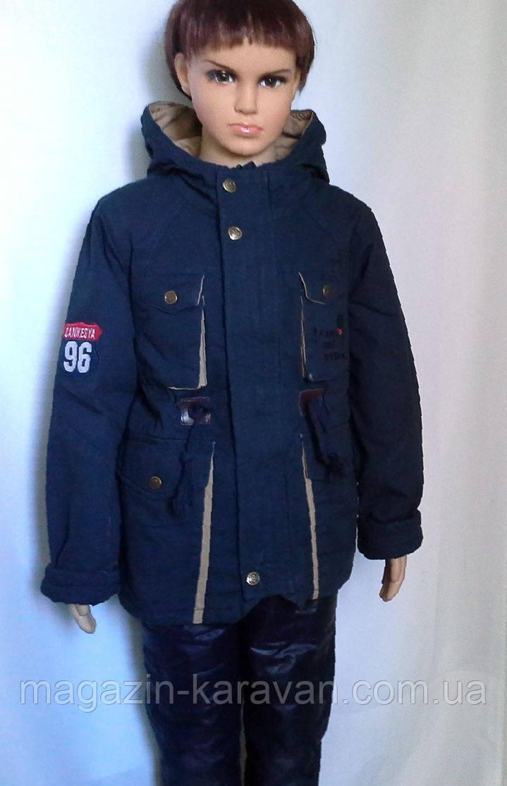 Куртка на мальчика весенняя