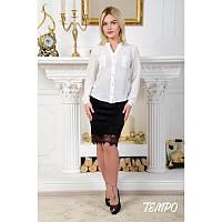 Блуза Шанель белая