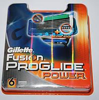Gillette Fusion Proglide Power упаковка 6 штук оригинал, фото 1